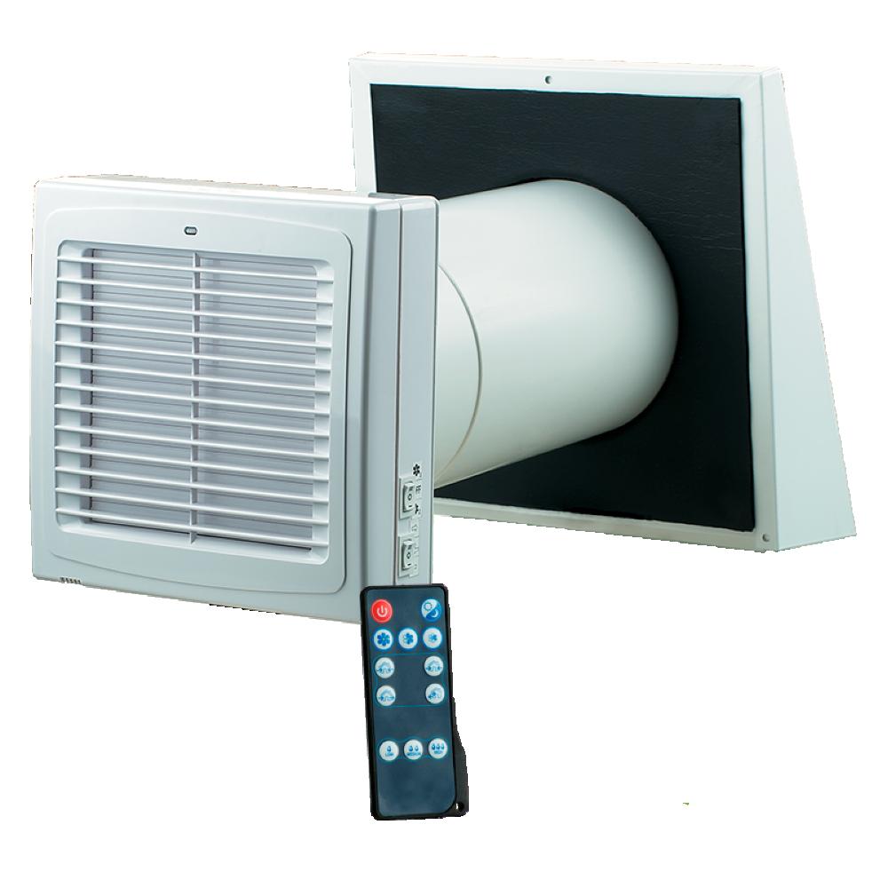 Super R25 - Opgrader en teleskop ventil med varmegenvinding NH85